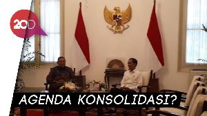 Jokowi Bertemu SBY di Istana