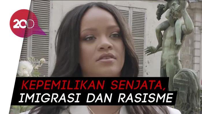 Muak dengan Donald Trump, Rihanna: Dia Manusia Paling Sakit Jiwa!