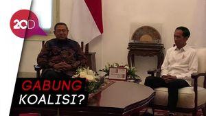 Jokowi Bertemu SBY, Apa yang Dibahas?