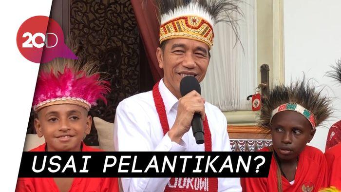 Pak Jokowi, Kapan Kabinet Barunya Diumumkan?