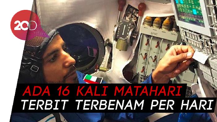 Dilema Hazza Al Mansouri Si Astronot Arab soal Salat di Luar Angkasa