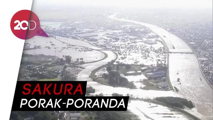 26 Orang Tewas Diserang Topan Hagibis di Jepang