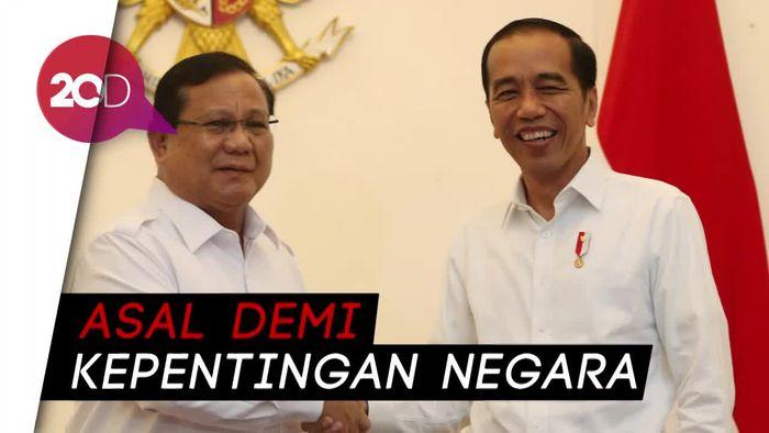 Luhut Setuju Prabowo Merapat ke Jokowi