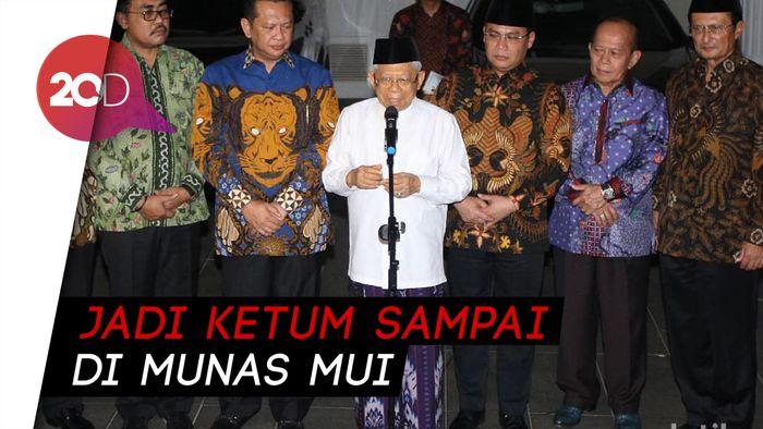 Maruf Amin: Saya Jadi Ketua Umum Nonaktif MUI Sampai Munas