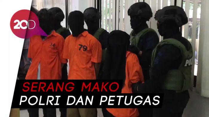 Densus 88 Tangkap 40 Orang Terduga Teroris
