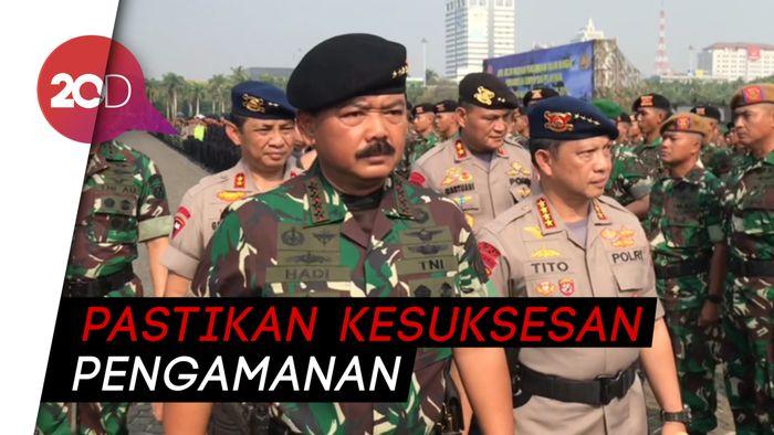 Panglima TNI: Nama Baik Bangsa Dipertaruhkan saat Pelantikan Presiden