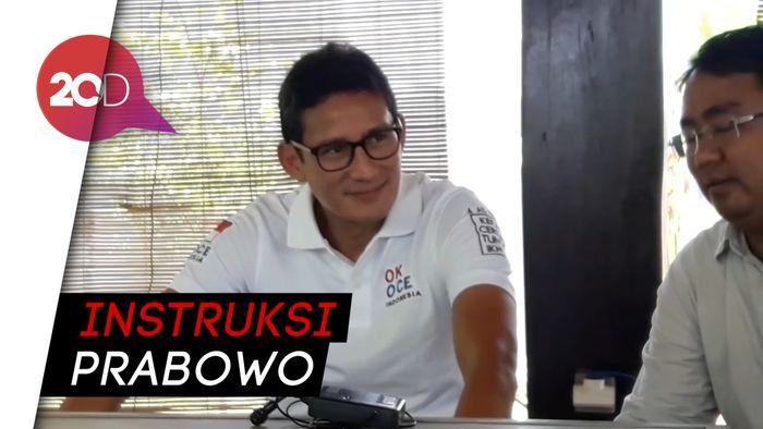 Resmi Kembali Ke Gerindra, Sandiaga Mencari Politisi Muda