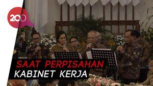 Menteri Sri Mulyani dan Basuki Hadimuljono Pamer Suara Merdu