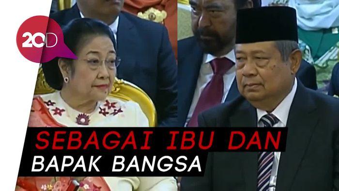 Megawati dan SBY Hadiri Pelantikan, Ketua MPR: Sungguh Kami Terharu