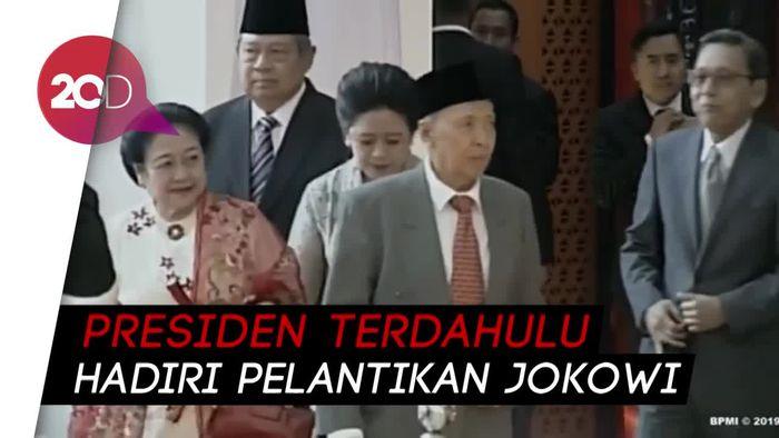 Ada SBY-Boediono di Belakang Mega-Puan Menuju Pelantikan Jokowi