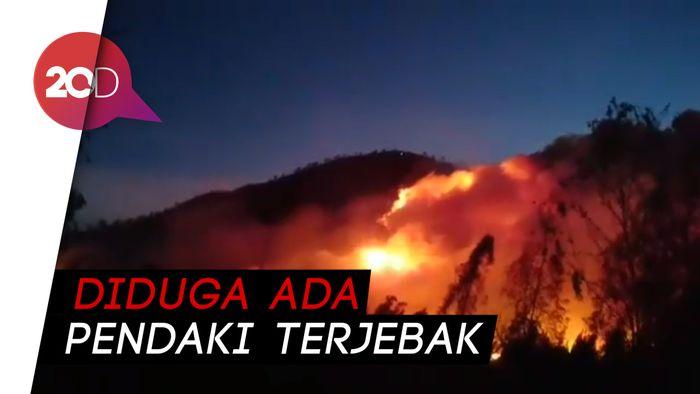 Gunung Ranti Terbakar, Kawah Ijen Ditutup