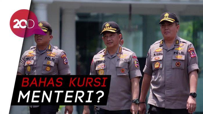 Giliran Kapolri Dipanggil Jokowi ke Istana