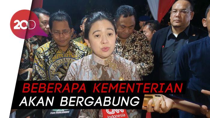 Hasil Temu Jokowi dan DPR, Ada 4 Perubahan Nomenklatur Kementerian