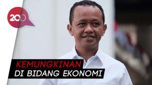 Jadi Calon Menteri, Bahlil: Tidak Jauh dari Ekonomi