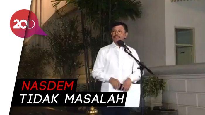 Prabowo Masuk Kabinet, NasDem: Hak Prerogatif Presiden