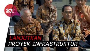 Jokowi Percayakan Duet Basuki-Budi Kawal Infrastruktur
