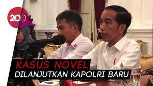 Jokowi Pastikan Ada Perkembangan di Kasus Novel Baswedan