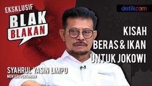 Blak-blakan Mentan SYL: Kisah Beras & Ikan Untuk Jokowi