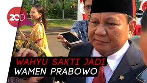 Eks Anggota TKN Jadi Wamenhan, Prabowo: Bagus