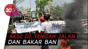 Adu Mulut Warga-Mahasiswa di Makassar Karena Aksi Bikin Macet