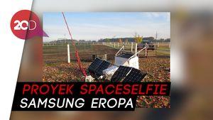 Jatuh dari Langit, Satelit Samsung Mendarat di Permukiman Warga