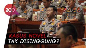 Kenapa Tak Ada yang Singgung Kasus Novel di Uji Kelayakan Idham Azis?