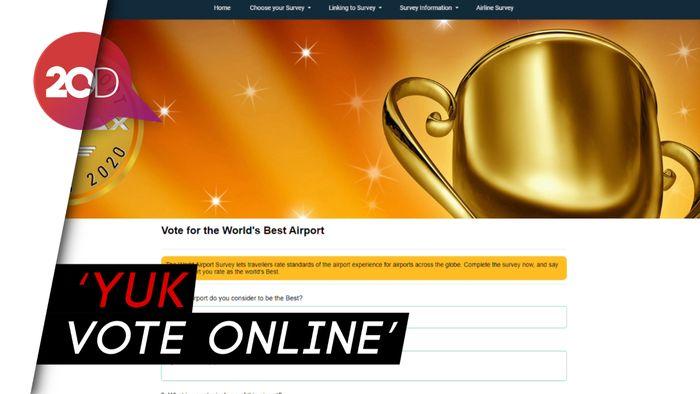Menhub Ajak Vote Soekarno-Hatta Jadi Bandara Terbaik di Dunia