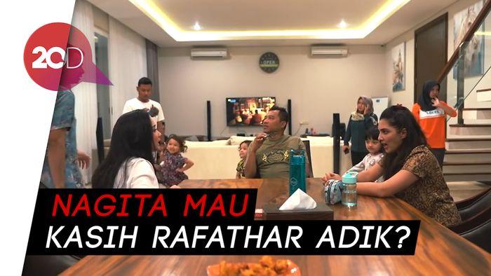 Jawaban Nagita Slavina saat Ditanya Kehamilan oleh Ashanty