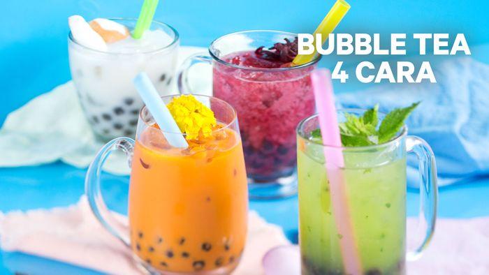 Resep Bubble Tea 4 Cara