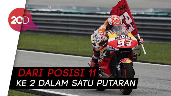 Video Marquez Menggila di MotoGP Malaysia