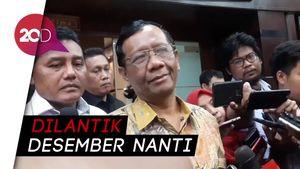 Anggota Dewas KPK Dilantik, Mahfud Md Klaim Tak Kirim Rekomendasi Nama