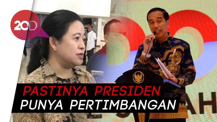 Jokowi Mau Tambah Wakil Menteri, Puan: Nggak Efisien!