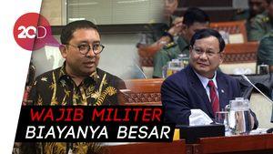 Prabowo Bicara Pertahanan Rakyat Semesta, Fadli Zon: Wamil Biayanya Besar
