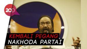 Sah! Surya Paloh Kembali Jadi Ketua Umum Partai NasDem