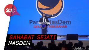 Surya Paloh: Jokowi Saya Sayangi, Megawati Sahabat Sejati