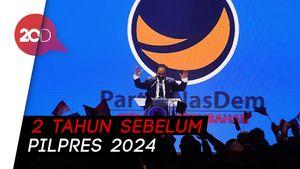 Surya Paloh Bicara Spekulasi di Pilpres 2024 di Kongres NasDem