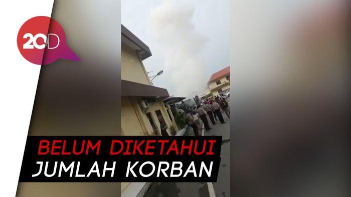 Bom Meledak di Polrestabes Medan, Diduga Bunuh Diri