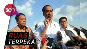 Jokowi Resmikan Tol Trans Sumatera 189 Km
