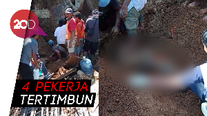 Proyek Double Track Sukabumi-Bogor Longsor!
