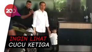 Tengok La Lembah Manah, Jokowi Kembali ke RS PKU Solo