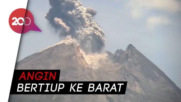 Detik-detik Letusan Gunung Merapi