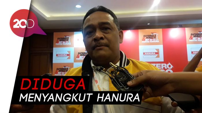 Hanura Pantau Gugatan Wiranto ke Bambang Sujagad Rp 44 M