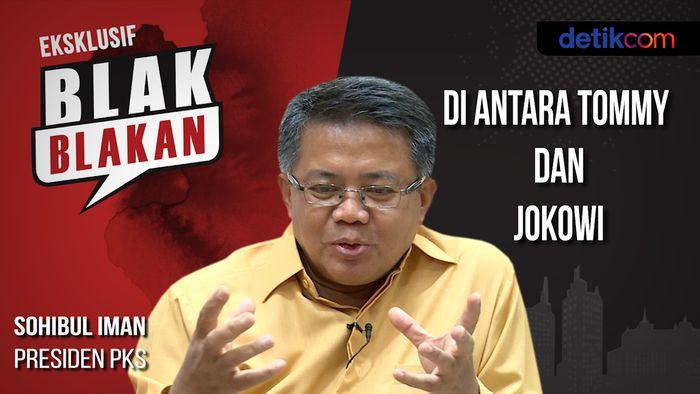 Blak-blakan Sohibul Iman: Di Antara Tommy dan Jokowi