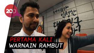 Penampilan Baru Nagita dan Raffi Ahmad saat Liburan ke Korea