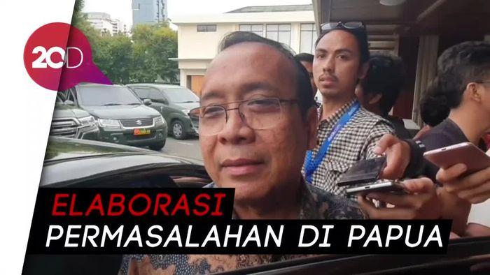 Temui Mahfud Md, Mensesneg Titipkan Pesan Jokowi Soal Papua