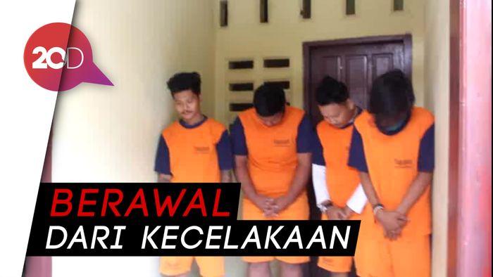 4 Pelaku Penyerangan Kampus Unifa Makassar Diciduk