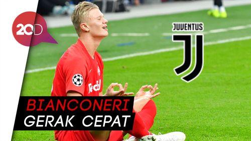 Kepincut! Juventus Tawar Erling Haaland Rp 46 Miliar