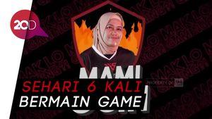 Mak Ocih, Emak-emak Milenial yang Handal Main Game Online
