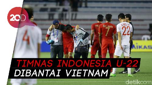 Digasak Vietnam, Indonesia Gagal Lagi Rengkuh Emas SEA Games