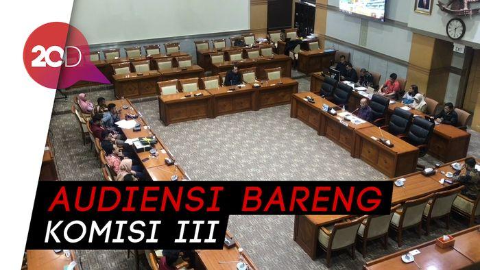 Sambangi DPR, IMM Minta Kasus Mahasiswa Tewas Demo Kendari Diusut